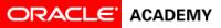 Hoofdsponsor: Oracle Academy